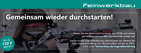 Comeback der Schützenvereine mit Feinwerkbau